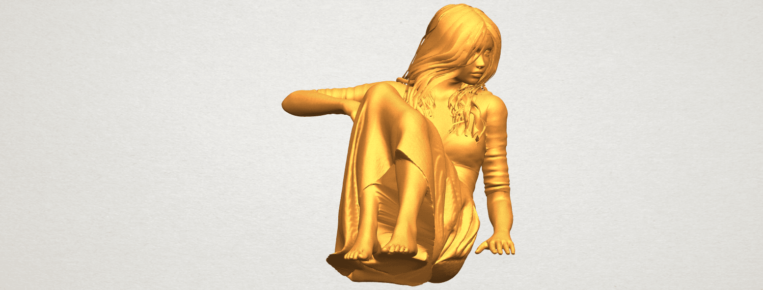 A10.png Download free STL file Naked Girl I03 • 3D printing object, GeorgesNikkei