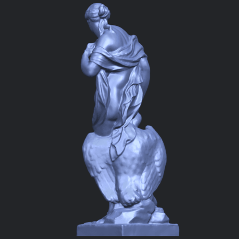 25_TDA0173_Naked_Girl_with_Goose_88mmB05.png Download free STL file Naked Girl with Goose • 3D print template, GeorgesNikkei