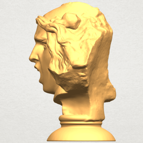 A04.png Download free STL file Bust of Shock • 3D print object, GeorgesNikkei