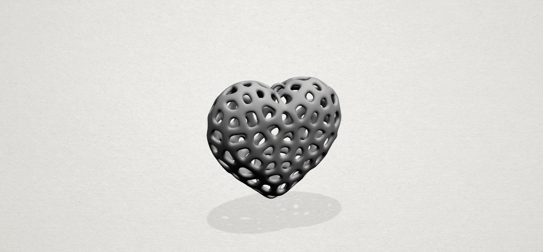 Necklaces -Voronoi Heart- A01.png Télécharger fichier STL gratuit Colliers -Voronoi Coeur de Voronoi • Plan pour imprimante 3D, GeorgesNikkei