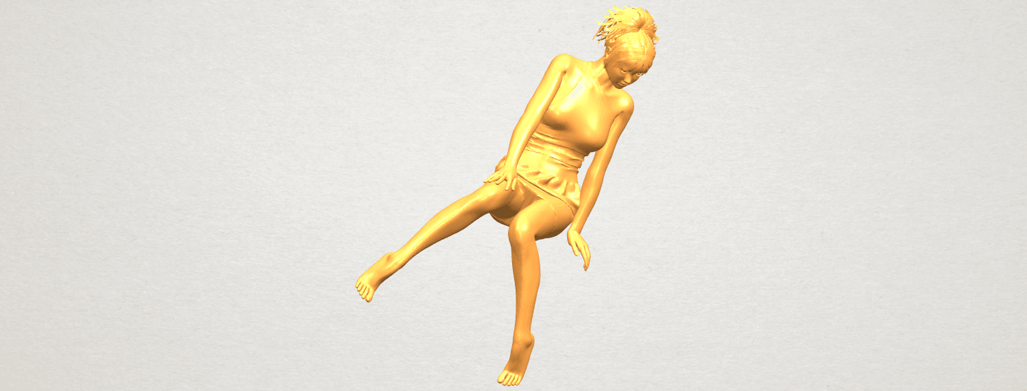 A10.png Download free STL file Naked Girl E05 • 3D print object, GeorgesNikkei