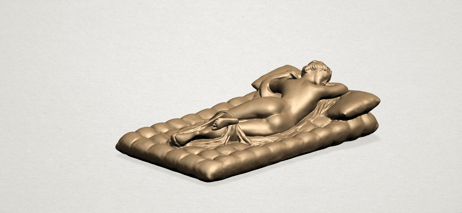 Naked Body Lying on Bed A01.png Download free STL file Naked Girl - Lying on Bed 02 • Object to 3D print, GeorgesNikkei