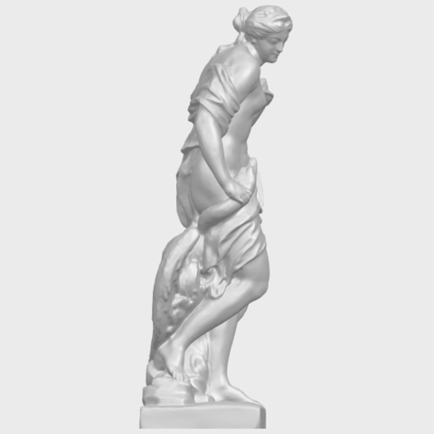 25_TDA0173_Naked_Girl_with_Goose_88mmA09.png Download free STL file Naked Girl with Goose • 3D print template, GeorgesNikkei