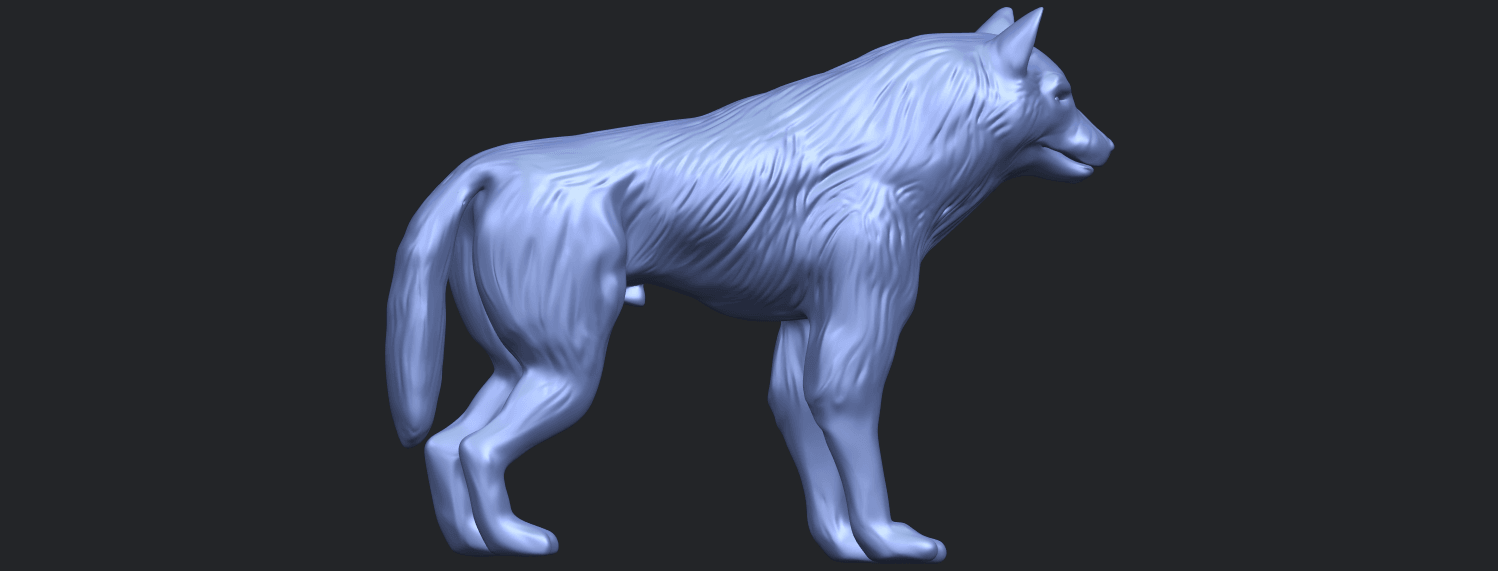 14_TDA0610_WolfB06.png Download free STL file Wolf • 3D printable design, GeorgesNikkei