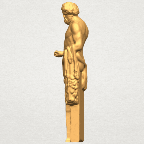 TDA0466 Sculpture of a man 02 A03.png Download free STL file Sculpture of a man 03 • 3D print model, GeorgesNikkei