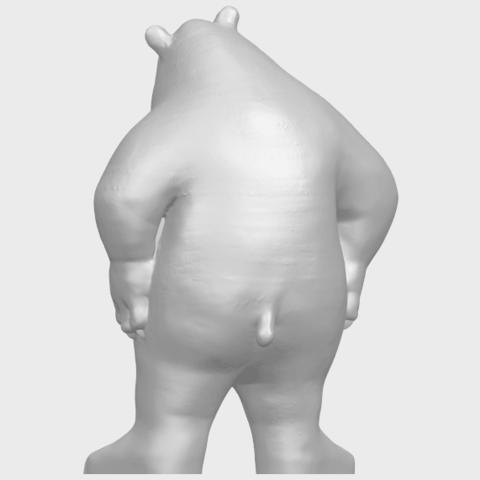 14_TDA0561_Bear_SeniorA06.png Télécharger fichier STL gratuit Bear Senior • Plan imprimable en 3D, GeorgesNikkei