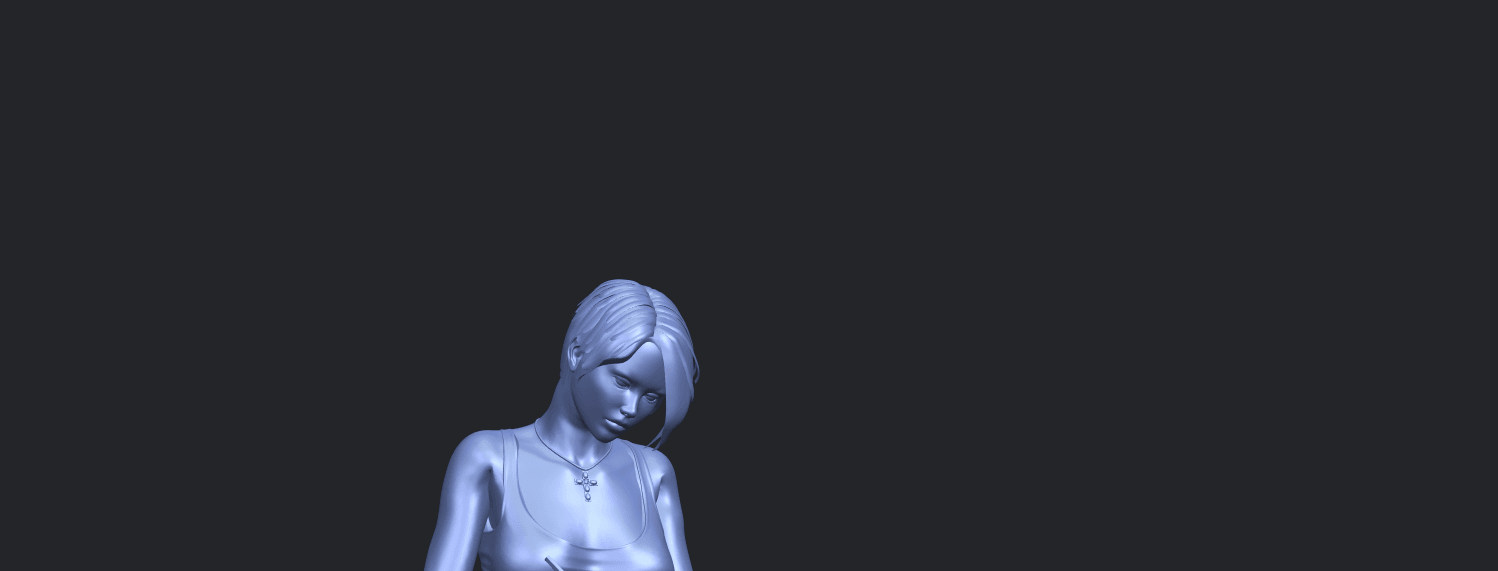 19_TDA0471_Beautiful_Girl_05_A10.png Download free STL file Beautiful Girl 05 • 3D printing template, GeorgesNikkei
