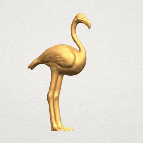 TDA0597 Flamingo 01 A05.png Download free STL file Flamingo 01 • 3D printing model, GeorgesNikkei