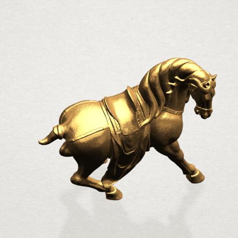 Horse III - B07.png Télécharger fichier STL gratuit Cheval 03 • Design imprimable en 3D, GeorgesNikkei