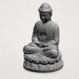 Download free 3D printer files Gautama Buddha, GeorgesNikkei