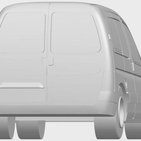 08_TDB002_1-50A04.png Download free STL file Citroen Berlingo Belgium Post • Design to 3D print, GeorgesNikkei