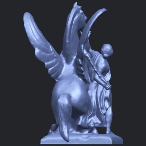 10_Horse_(v)_88.3mmB04.png Télécharger fichier STL gratuit Cheval 05 • Plan pour impression 3D, GeorgesNikkei
