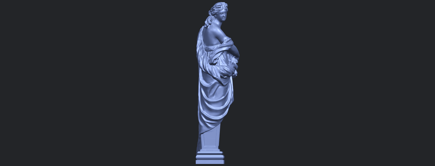 12_TDA0260_Sculpture_AutumnB09.png Download free STL file Sculpture - Autumn • 3D print template, GeorgesNikkei