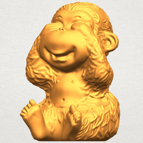 A02.png Download free STL file Monkey A03 • 3D printable model, GeorgesNikkei