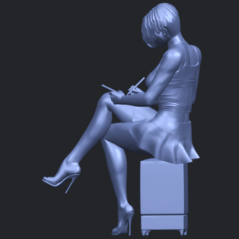 19_TDA0471_Beautiful_Girl_05_B04.png Download free STL file Beautiful Girl 05 • 3D printing template, GeorgesNikkei