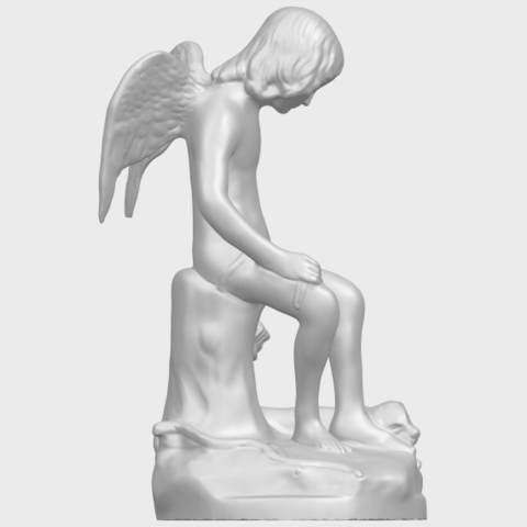 05_Angel_and_Dog_80mmA09.png Download free STL file Angel and Dog • 3D print model, GeorgesNikkei