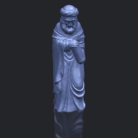 26_Sculpture_of_Arabian_88mm-B00-1.png Download free STL file Sculpture of Arabian • 3D print template, GeorgesNikkei