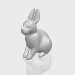 Free 3d printer designs Rabbit 03, GeorgesNikkei