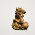 Download free 3D printing designs Chinese Horoscope 05 Dragon, GeorgesNikkei