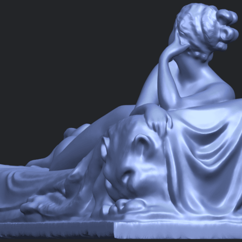 11_Naked_Girl_Lying_on_Bed_i_60mmB03.png Download free STL file Naked Girl - Lying on Bed 01 • 3D printable object, GeorgesNikkei