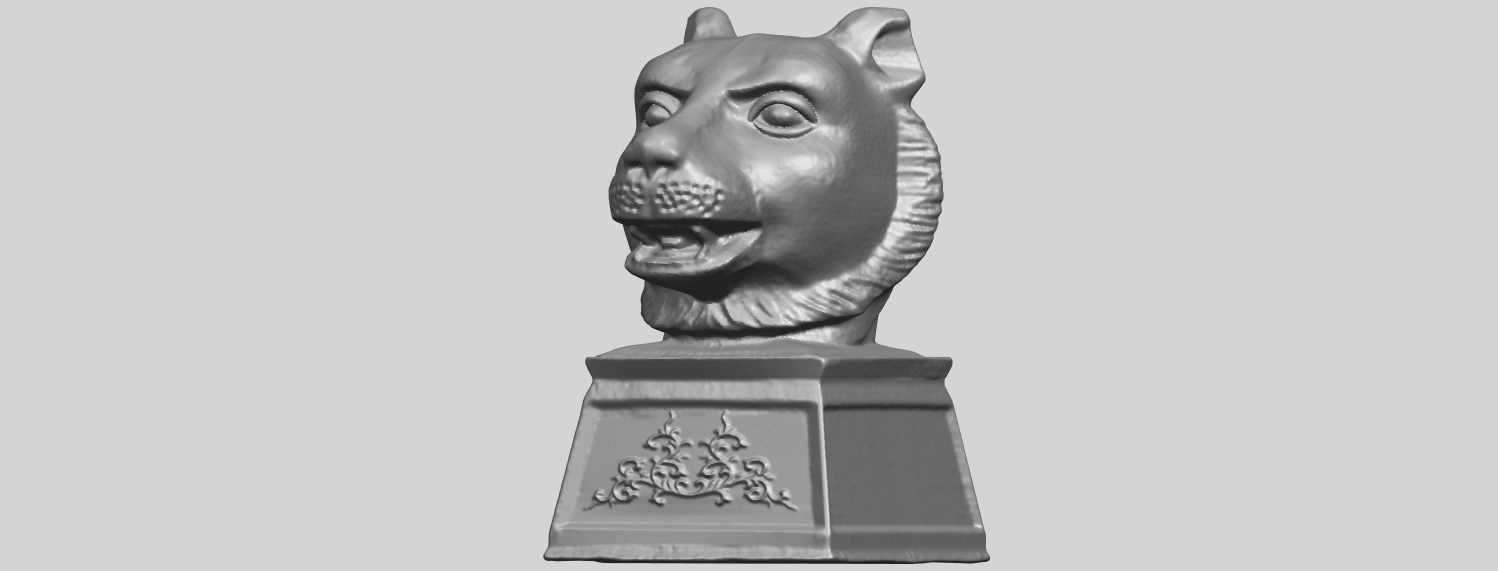 15_TDA0510_Chinese_Horoscope_of_Tiger_02A02.png Download free STL file Chinese Horoscope of Tiger 02 • 3D print object, GeorgesNikkei