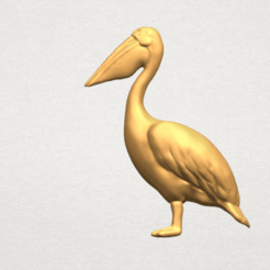 Free 3d printer files Pelican, GeorgesNikkei