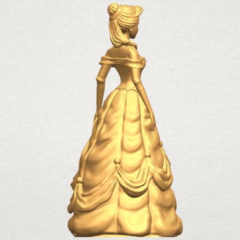 TDA0578 Princess Belle A06.png Télécharger fichier STL gratuit Princesse Belle • Modèle pour impression 3D, GeorgesNikkei