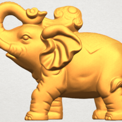 Free 3d print files Elephant 05, GeorgesNikkei