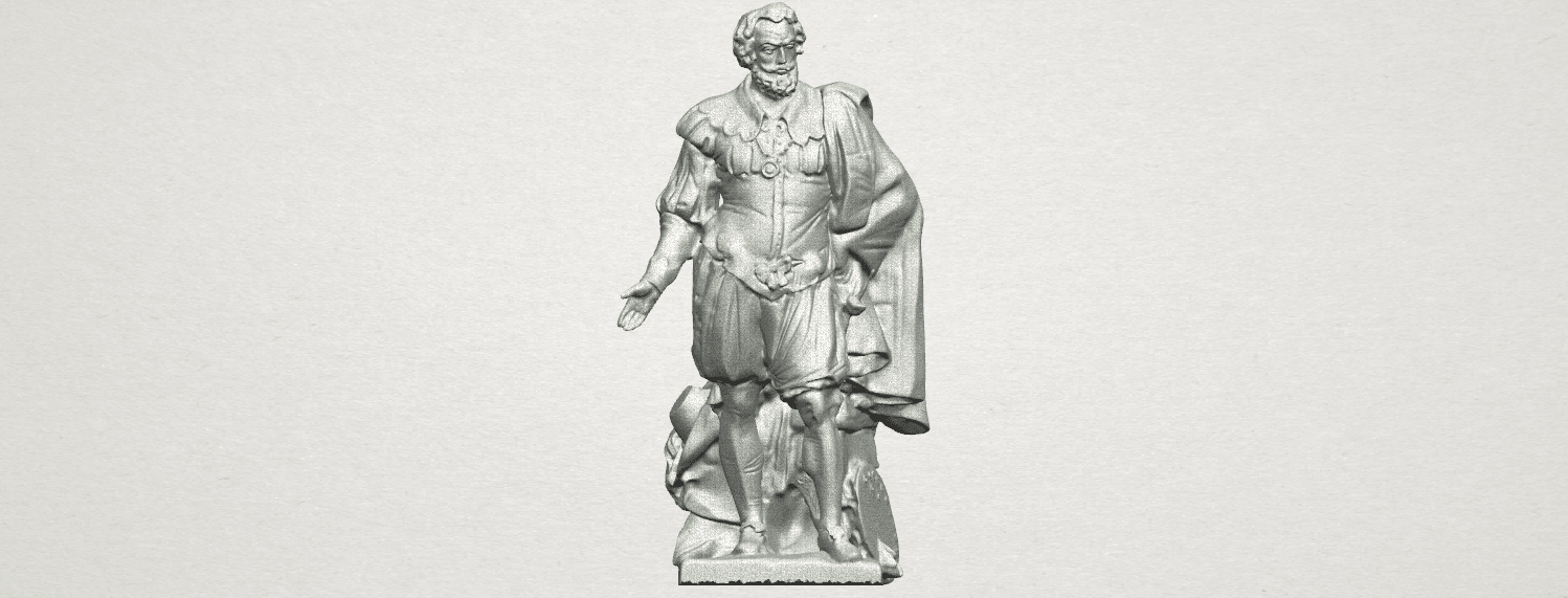 TDA0264 Peter Paul Rubens A01.png Télécharger fichier STL gratuit Peter Paul Rubens • Modèle pour imprimante 3D, GeorgesNikkei