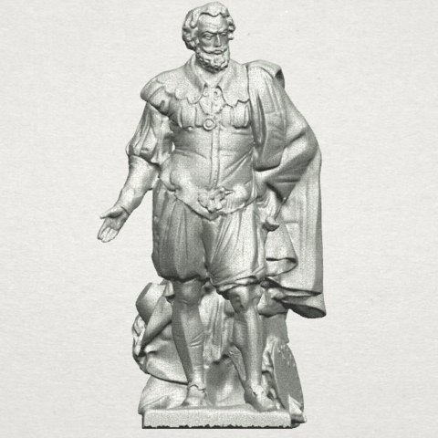 Download free STL file Peter Paul Rubens, GeorgesNikkei