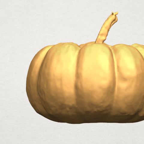 TDA0614 Pumpkin 02 A01.png Download free STL file Pumpkin 02 • 3D print template, GeorgesNikkei