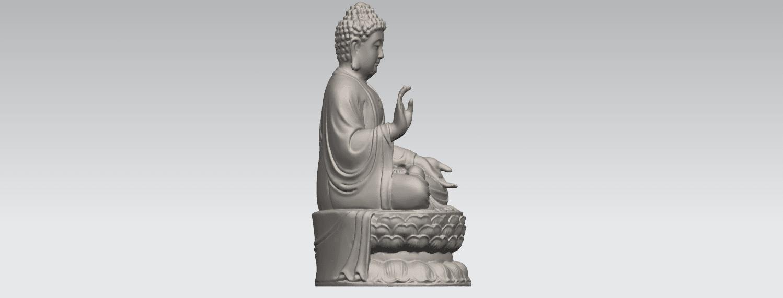 TDA0459 Gautama Buddha (iii) A06.png Download free STL file Gautama Buddha 03 • 3D printer template, GeorgesNikkei