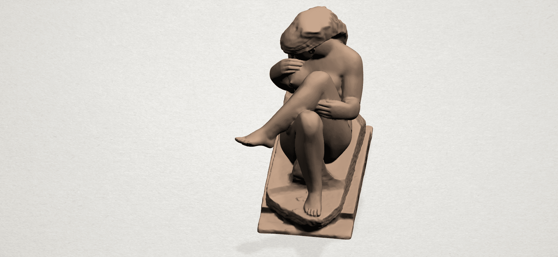 Naked Girl (xiii) A07.png Download free STL file Naked Girl 13 • 3D print design, GeorgesNikkei