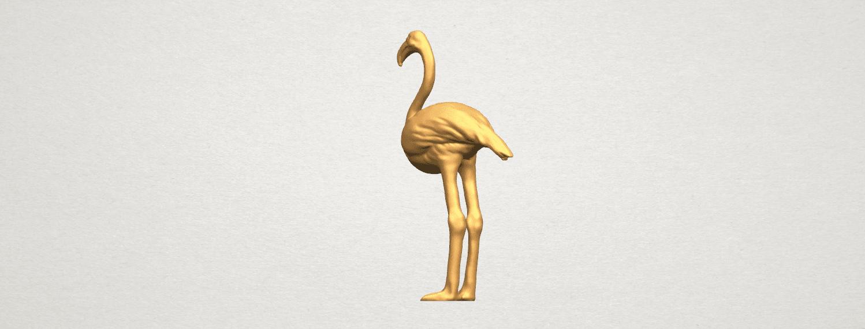 TDA0597 Flamingo 01 A02.png Download free STL file Flamingo 01 • 3D printing model, GeorgesNikkei