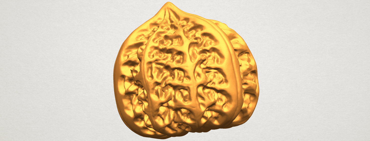 A08.png Download free STL file Walnut • 3D print object, GeorgesNikkei