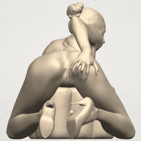 TDA0284 Naked Girl B01 07.png Télécharger fichier STL gratuit Fille nue B01 • Design à imprimer en 3D, GeorgesNikkei