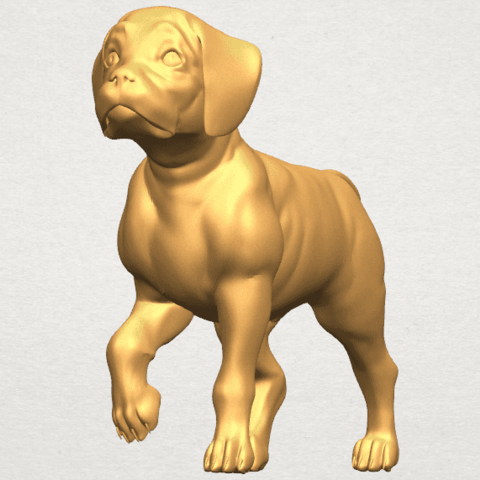 TDA0521 Bull Dog 02 A04.png Download free STL file Bull Dog 02 • 3D printable model, GeorgesNikkei