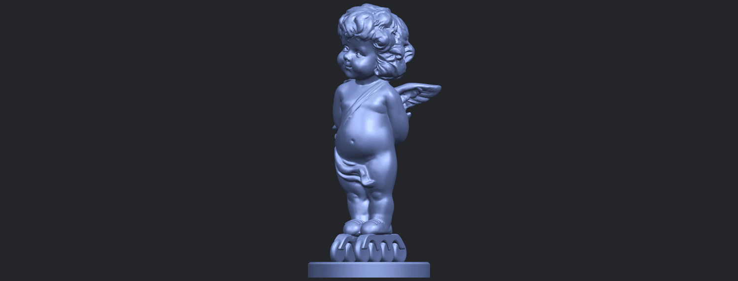 15_TDA0478_Angel_Baby_01B02.png Download free STL file Angel Baby 01 • 3D print template, GeorgesNikkei