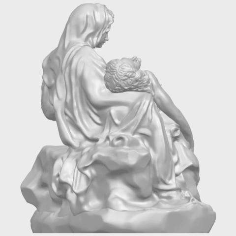 05_TDA0238_La_PietaA08.png Télécharger fichier STL gratuit La Pieta • Modèle pour impression 3D, GeorgesNikkei