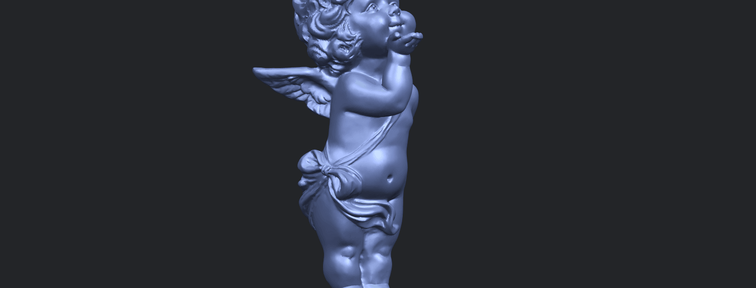 03_TDA0480_Angel_Baby_03A10.png Download free STL file Angel Baby 03 • 3D printing template, GeorgesNikkei
