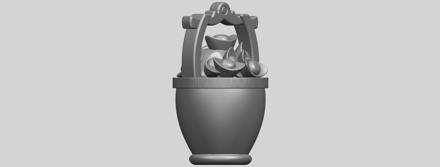 13_TDA0502_Gold_in_BucketA05.png Download free STL file Gold in Bucket • 3D print object, GeorgesNikkei