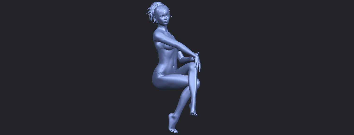 20_TDA0664_Naked_Girl_H02B03.png Download free STL file Naked Girl H02 • 3D print object, GeorgesNikkei