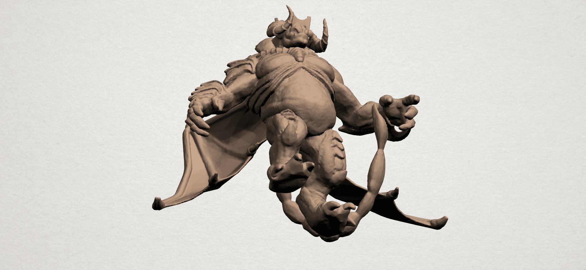 Monster (i) A08.png Download free STL file Monster 01 • 3D printable template, GeorgesNikkei