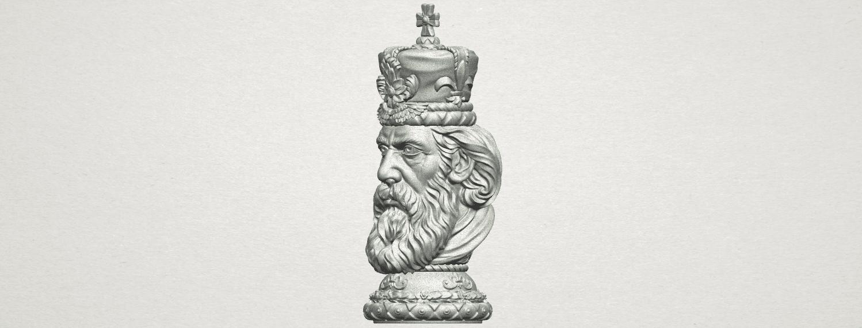 TDA0254 Chess-The King A03.png Télécharger fichier STL gratuit Chess-Le roi des échecs • Objet pour impression 3D, GeorgesNikkei
