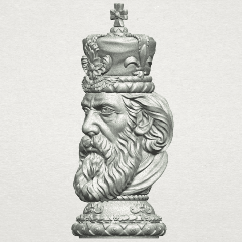 TDA0254 Chess-The King A03.png Download free STL file Chess-The King • 3D printer model, GeorgesNikkei