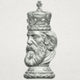 Free STL file Chess-The King, GeorgesNikkei