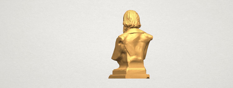 TDA0621 Sculpture of a head of man 03 A04.png Télécharger fichier STL gratuit Sculpture d'une tête d'homme 03 • Plan pour impression 3D, GeorgesNikkei
