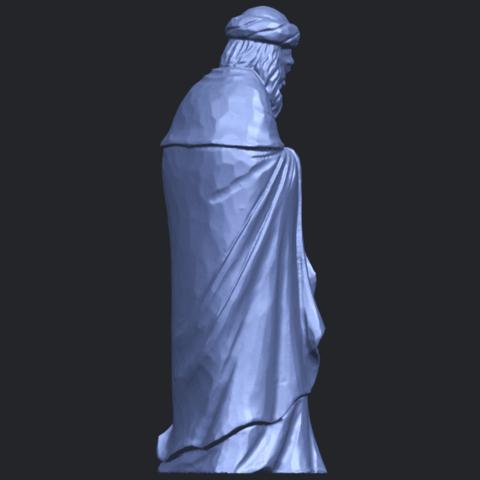 26_Sculpture_of_Arabian_88mm-B07.png Download free STL file Sculpture of Arabian • 3D print template, GeorgesNikkei