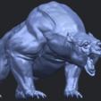 15_TDA0744_Bear_02B08.png Télécharger fichier STL gratuit Ours 02 • Plan à imprimer en 3D, GeorgesNikkei