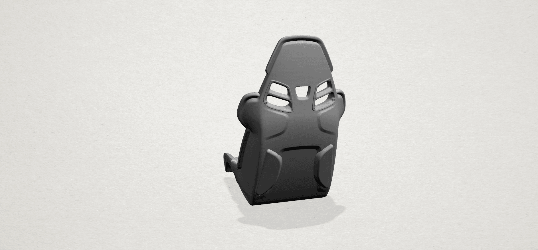 Seat -A03.png Download free STL file Car Seat • 3D printing design, GeorgesNikkei